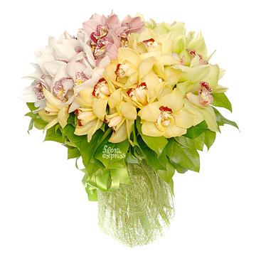 Букет Таинственные орхидеи