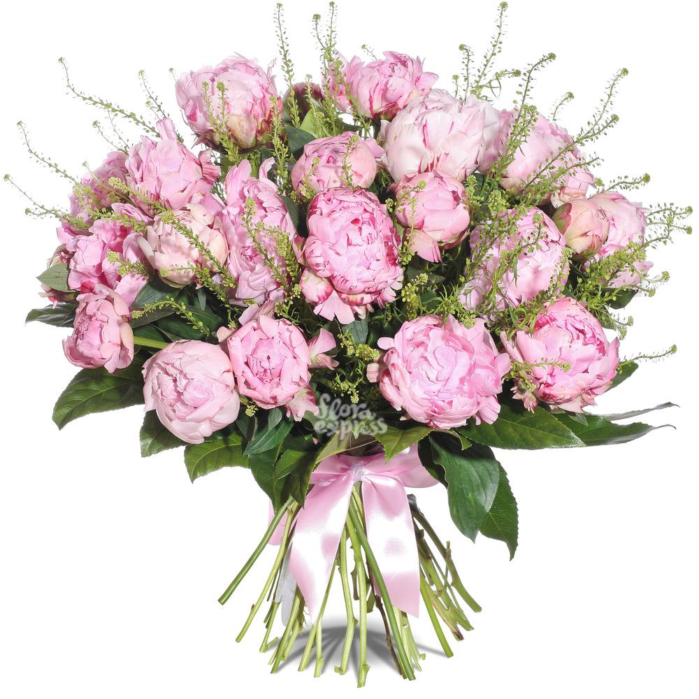Букет «Flora Express», Пионовая любовь
