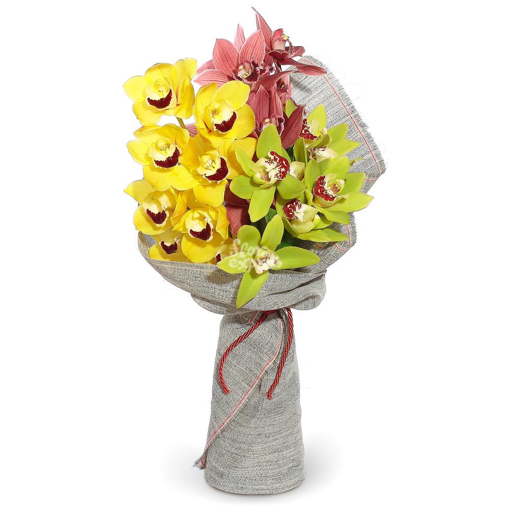 Букет «Flora Express» Пленительные орхидеи фото