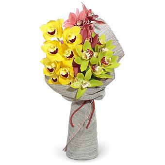Букет Пленительные орхидеи