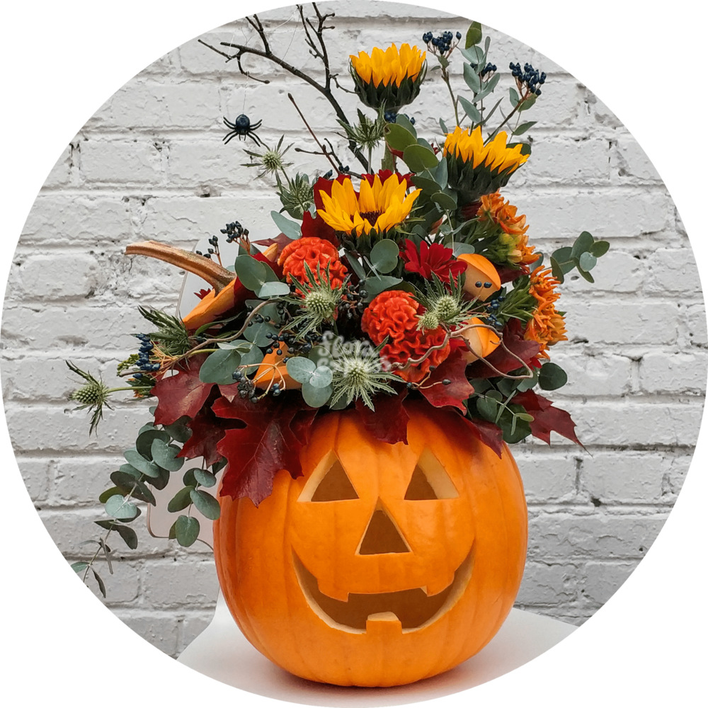 Букет «Flora Express», Хеллоуин