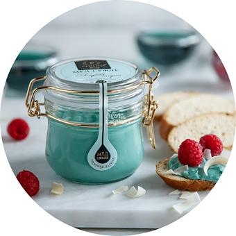 Букет Мёд-суфле «Голубая лагуна»
