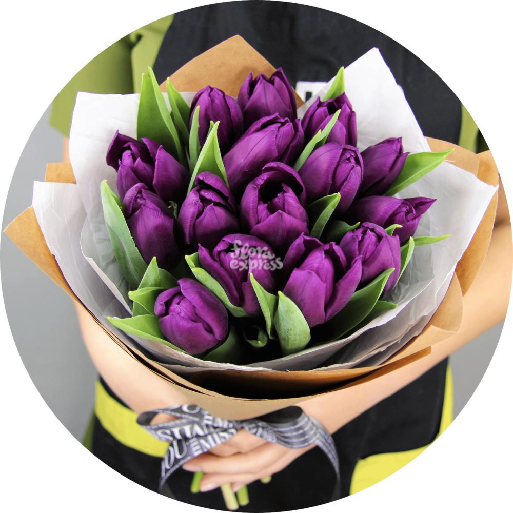 Букет «Flora Express», Цвет Ночи